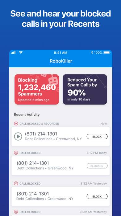 RoboKiller: Spam Call Blocker screenshot #3