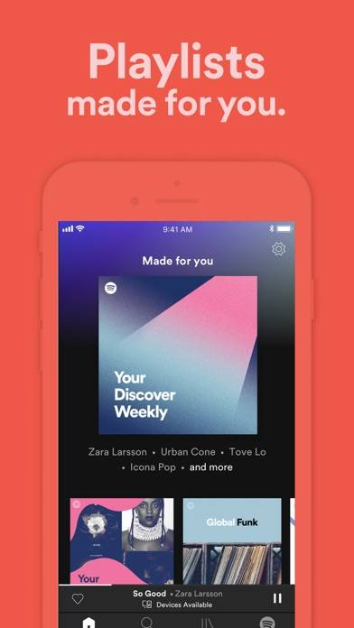Spotify New music and podcasts screenshot #5