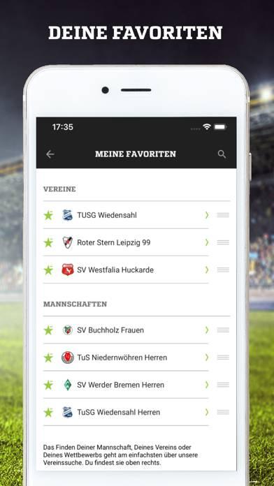 Fußball. De App